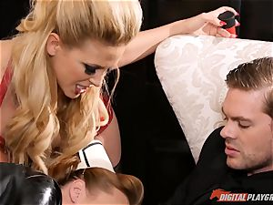 slit beating the insane fuckfest slave maid Britney Amber
