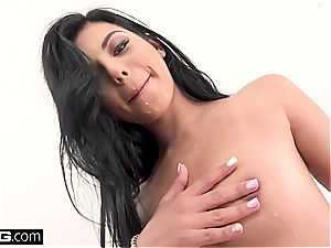 Gina Valentina gets every fuck hole jammed and pummeled