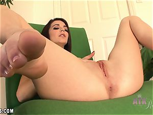 Kiera Winters interview and cooter rub