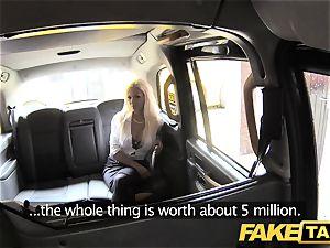 fake cab molten estate agent gets creampied