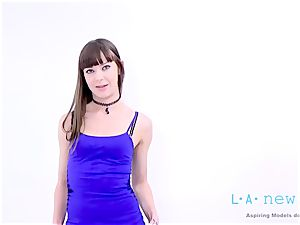nubile IS drilled BY AGENT AT audition audition