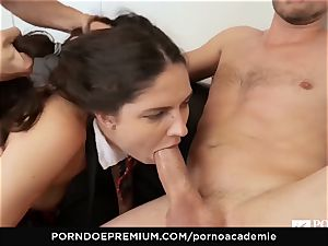 porn ACADEMIE - Francesca Di Caprio assfuck three way