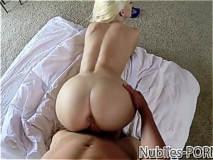 blowing your load into Jessie's throat