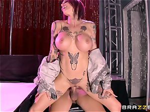 inked Anna Bell Peaks shafted by a sailor