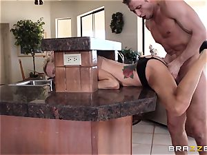 Sarah Jessie completes her run with a strangers huge man meat