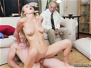 female kneeing man Molly Earns Her Keep