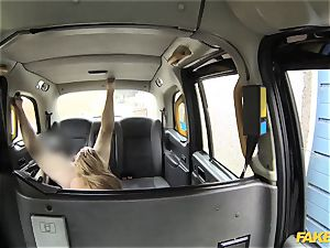 fake taxi fabulous gal in fishnet undergarments
