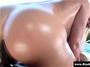 pornstar Krissy Lynn rump smashed rigid and she bellows