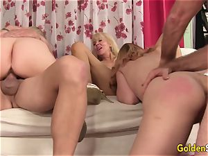 Mature fucky-fucky with The greatest older stunners