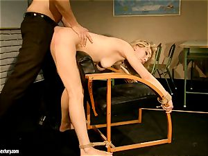 hoe Lily loves wanted the way she gets porked from behind until she cums