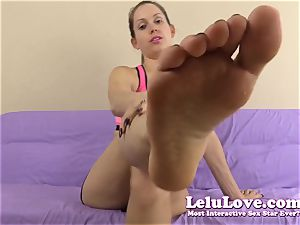 lick my feet and soles then shoot your jism in my boot - Lelu love